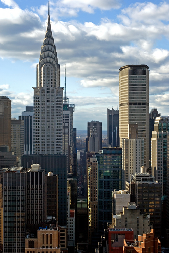 nyc skyline - chrysler building
